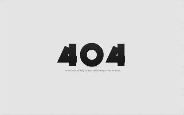 404 Error Page Free Download