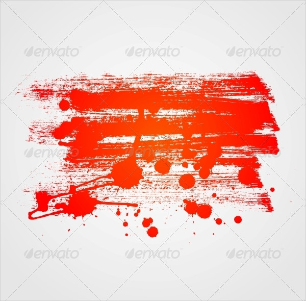 Abstract Paint Banner Background