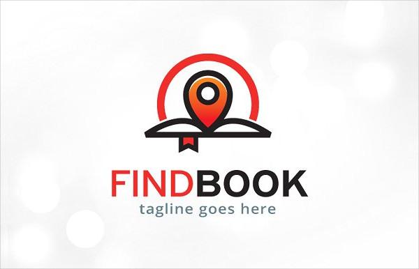 Book Locator Logo Template