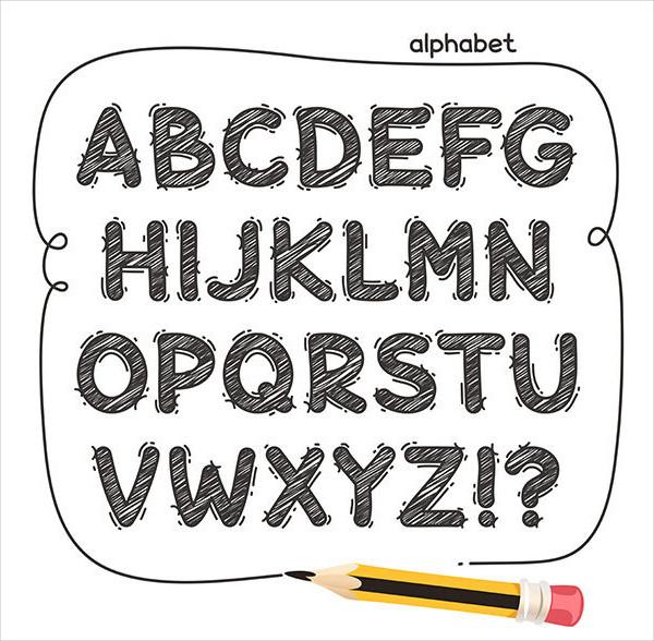 Cartoon Doodle Fonts