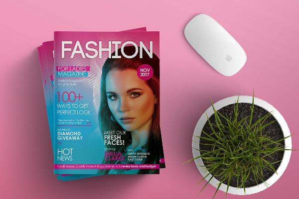 Colorful Magazine Cover Design