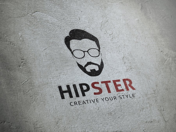 Corporate Hipster Logo Template
