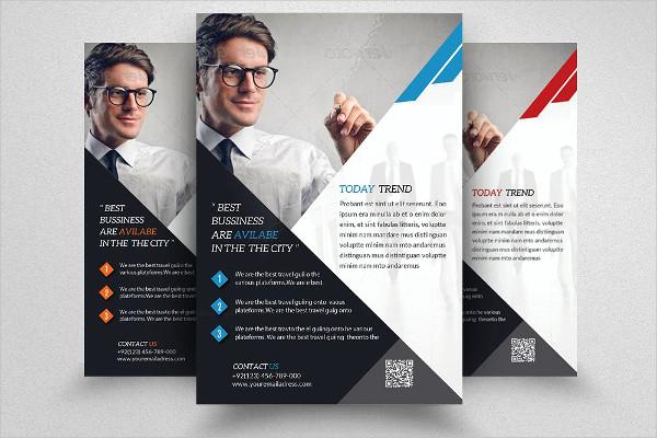 Creative Business Training Flyer Design