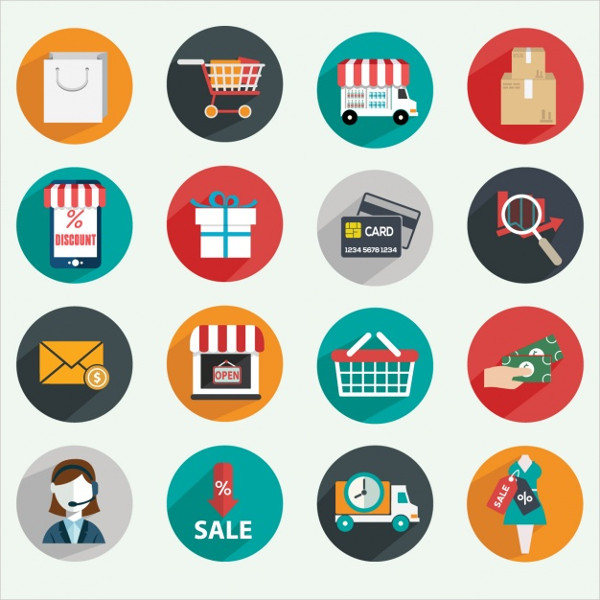 Free E commerce Vector Icons