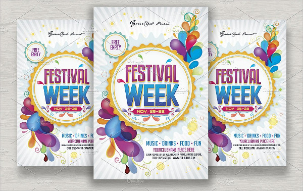 Festival Week Flyer Template