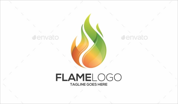 Popular Fire or Flame Logo Template