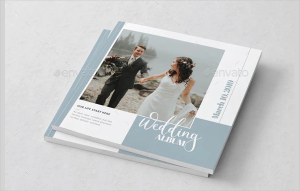 InDesign Wedding Album Template