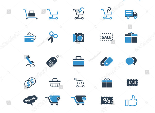 Infographic Ecommerce Business Icons