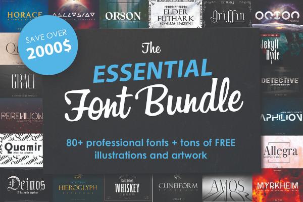 Massive Font Bundle