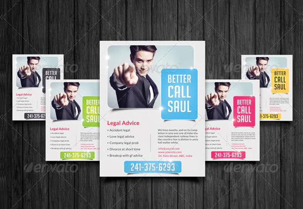 Clean Flyer Design for Law Office