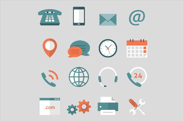 Support Feedback Service Icons Vector