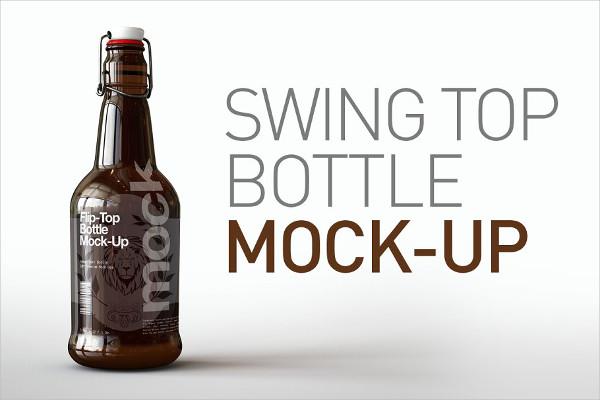 Custom Sauce Bottle Mockups