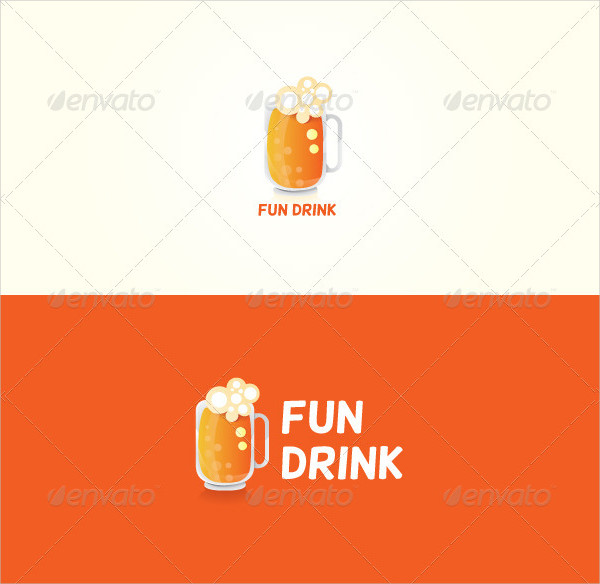 Cocktail Stock Logo Design
