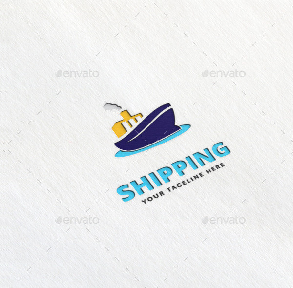 Best Shipping Logo Template