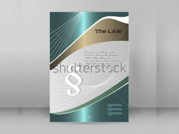 Lawyer & Law Firm Business Flyer Template