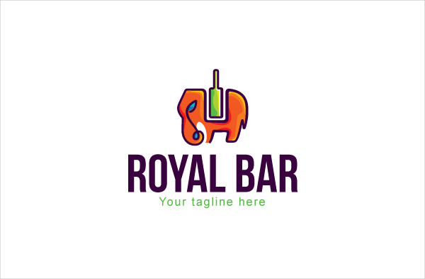 Logo Template for Drinking Hubs & Restaurant
