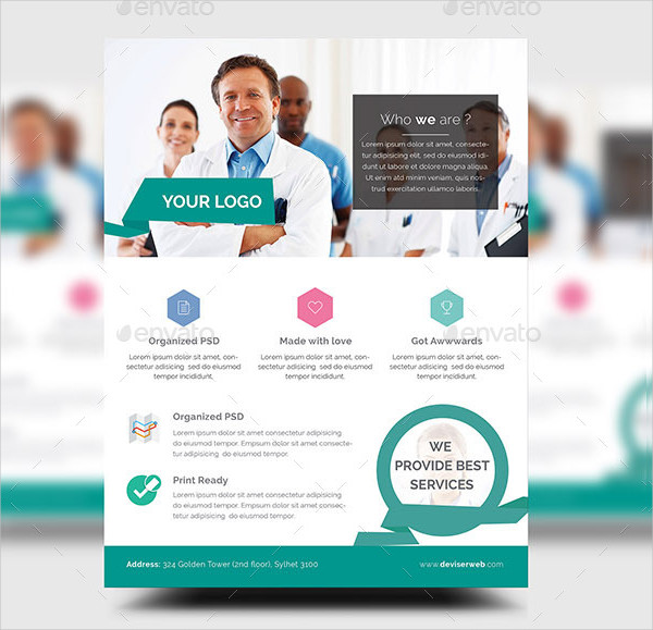 Cool Doctor Flyer or Poster Template