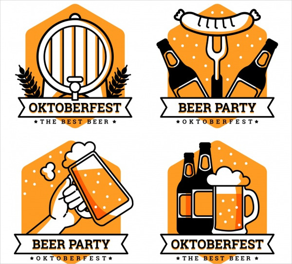 Oktoberfest Logos Collection Free Download