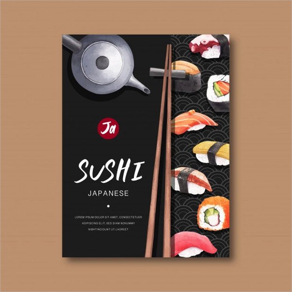 Poster for Advertisement Restaurant Free Download