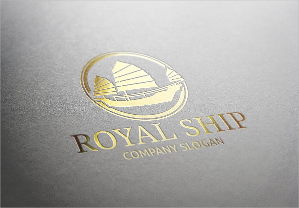 Royal Ship Logo Template
