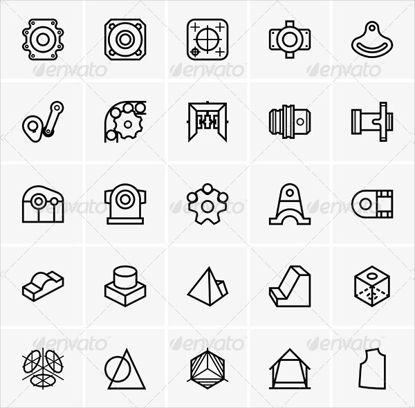 Attractive Engineering Icon Pack