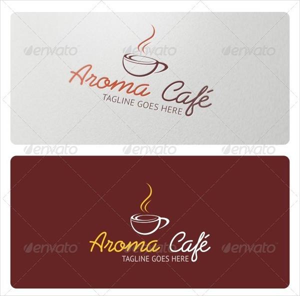 Aroma Cafe Logo Template