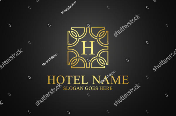 Classic Logo Template for Hotel
