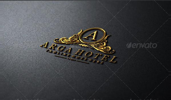 Custom Hotel and Restaurant Logo Template