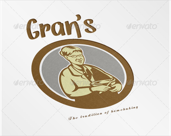 Gran's Traditional Homebaking Logo