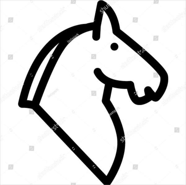 Horse Outline Icon