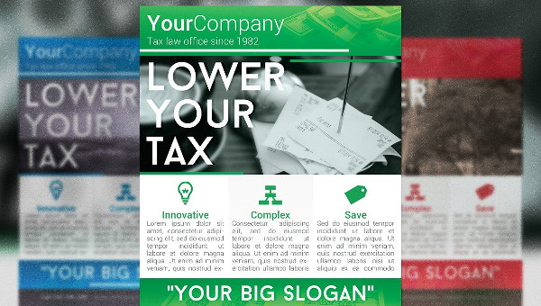 Income Tax Flyer