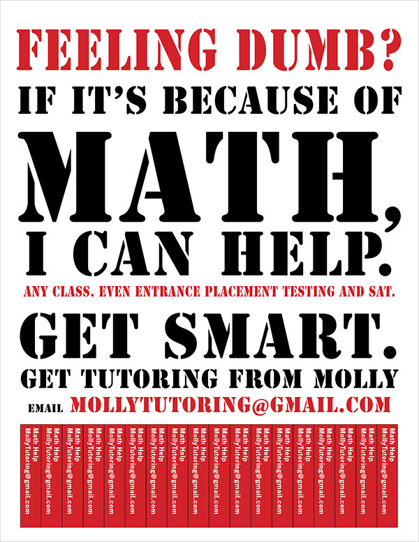 Sample Tutoring Flyers Design