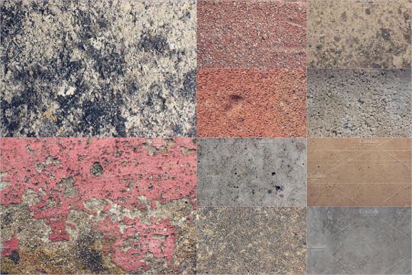 10 Concrete Grunge Texture Pack