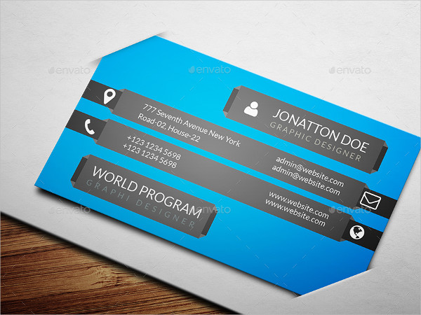 Chef Personal Business Card Design