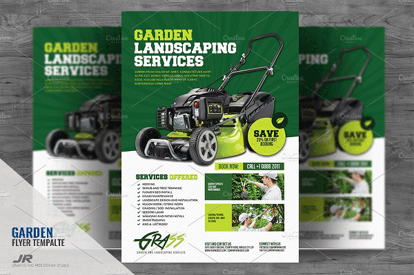 Best Landscaping Flyer PSD Design