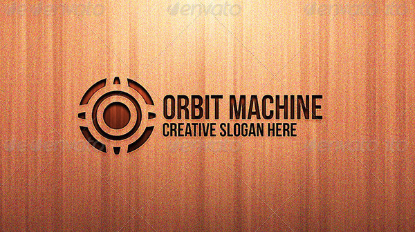Orbit Machine Creative Logo Template