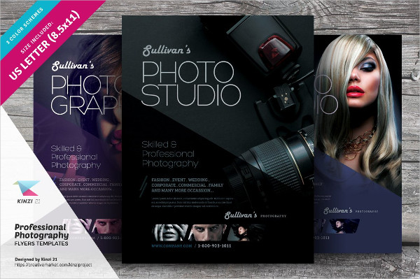 Photography Event Flyer Design