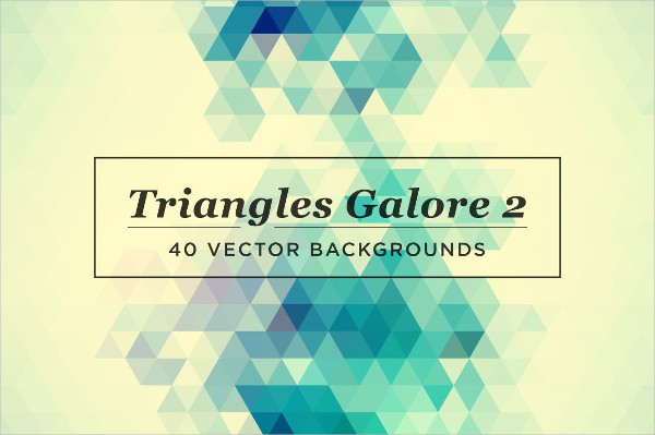 Triangles Galore Vector Download