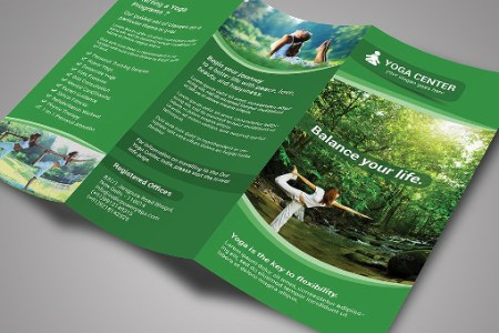 21  Yoga Brochure Templates   Free   Premium Download Yoga Brochure Templates