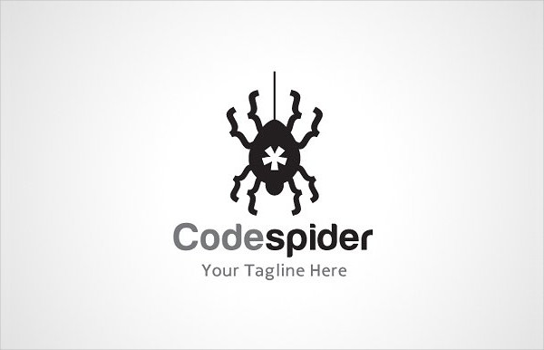 Code Spiders Logo Template