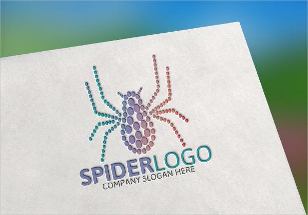 Spider Corporate Business Logo Design