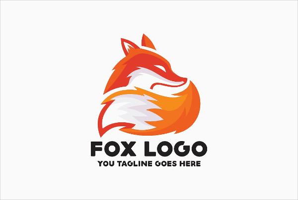 Cool Fox Logo Template