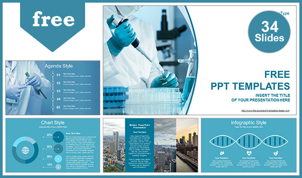 Free Medical Development Powerpoint Templates
