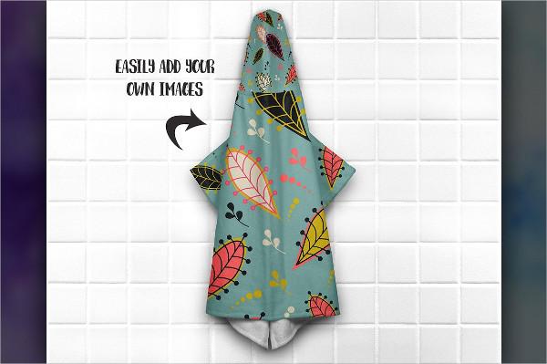 Famous Hooded Towel Mockups Bundle