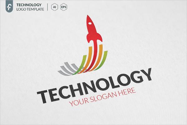 Rocket Technology Logo Template