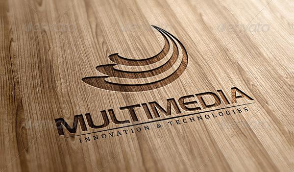 3D Multimedia Logo Template
