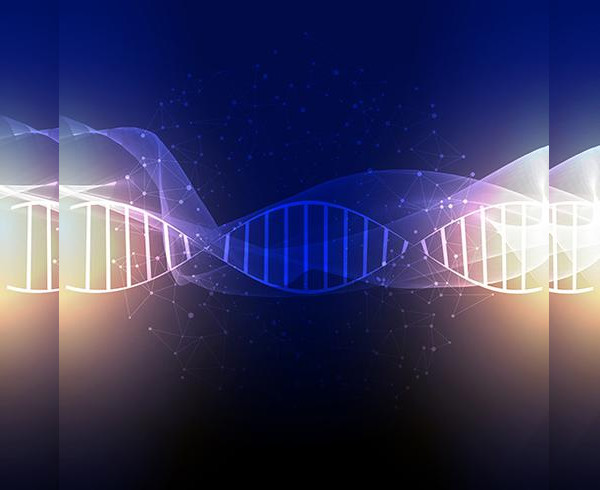 Abstract DNA Background Free