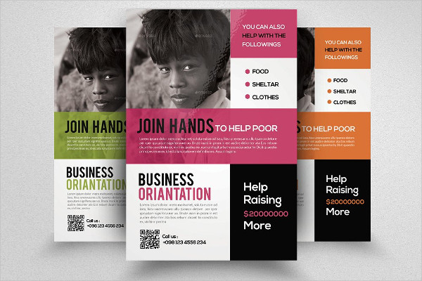 Clothing Donation Event Flyer Template