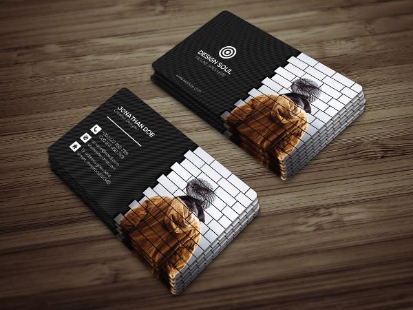 PSD Photography Visiting Card Template