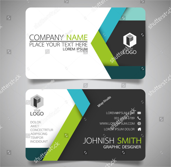 Vector Visiting Card Template